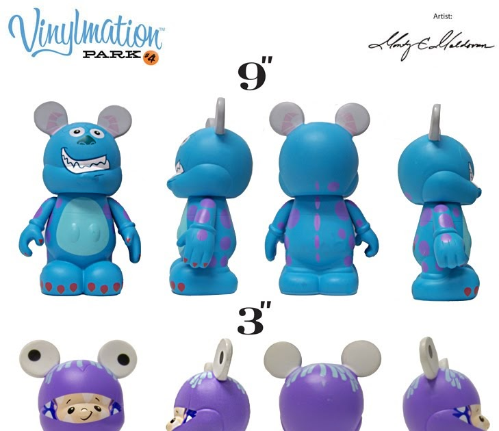The Blot Says Disney Vinylmation Sully Amp Boo Monsters