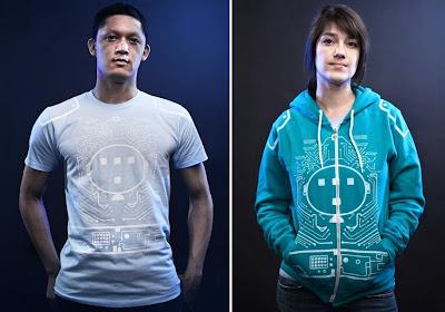 "Threadless - ""My Other Ride Is A Light Cycle"" Tron T-Shirt and Hoodie by Rolf Nelson"
