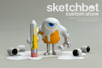 Steve Talkowski's Sketchbot Custom Show presented by myplasticheart