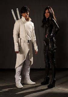 G.I. Joe Movie - Byung-hun Lee as Storm Shadow and Sienna Miller as The Baroness