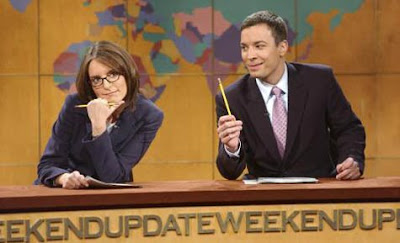 Saturday Night Live - Tina Fey and Jimmy Fallon host Weekend Update