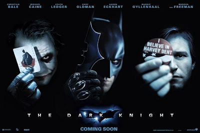 The Dark Knight Three Piece Character Promo Poster Set