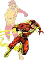 The Third Modern Age Flash and Kid Flash - Wally West