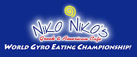 Niko Niko's World Gyro Eating Championship logo