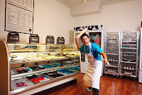 The Johnny Cupcakes Store in Boston, MA
