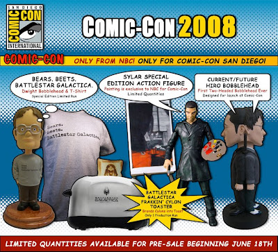 NBC 2008 San Diego Comic-Con Exclusives
