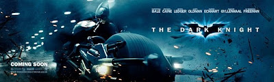 The Dark Knight - Batman on Batpod Theatrical Banner