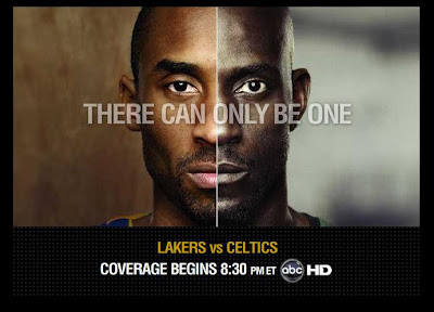 The 2008 NBA Finals - Los Angeles Lakers vs. Boston Celtics - There Can Only Be One - Kobe Bryant and Kevin Garnett