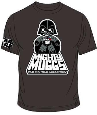 Star Wars Mighty Muggs 2008 San Diego Comic-Con Exclusive - Limited Edition Darth Vader T-Shirt