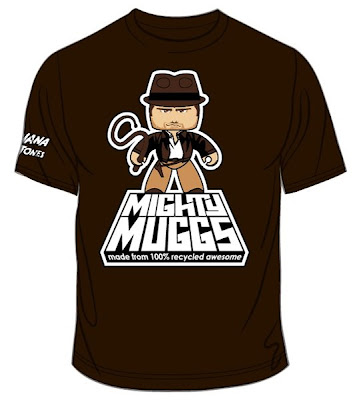 Indiana Jones Mighty Muggs 2008 San Diego Comic-Con Exclusive - Limited Edition Indiana Jones T-Shirt