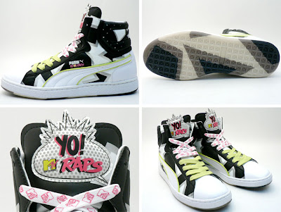YO! MTV Raps x Puma First Round B4 sneakers