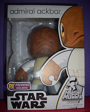 Star Wars Might Muggs - Previews Exclusive Admiral Ackbar Mighty Mugg