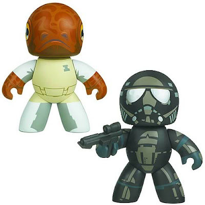 Star Wars Previews Exclusive Mighty Muggs - Admiral Ackbar and Shadow Stormtrooper