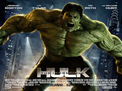The Incredible Hulk Movie Banner