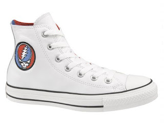 Grateful Dead x Converse Sneakers - Steal Your Face White Chuck Taylor All Stars