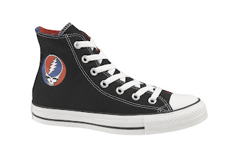 Grateful Dead x Converse Sneakers - Steal Your Face Black Chuck Taylor All Stars