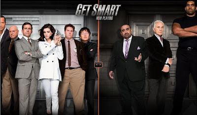 The Cast of Get Smart - CONTROL vs. KAOS