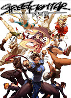 Street Fighter Tribute Book Cover by UDON