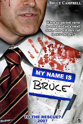 My Name Is Bruce Teaser Movie Poster