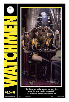 Watchmen Character Movie Posters - Malin Akerman as Laurie Juspeczyk / Silk Spectre II
