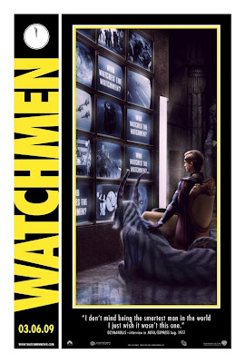 Watchmen Character Movie Posters - Matthew Goode as Adrian Veidt / Ozymandias