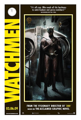 Watchmen Character Movie Posters - Patrick Wilson as Dan Dreiberg / Nite Owl