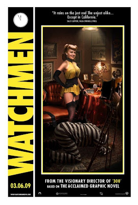 Watchmen Character Movie Posters - Carla Gugino as Sally Jupiter / Silk Spectre I