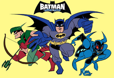 Batman: The Brave and The Bold Animated Series featuring Green Arrow, Batman & Blue Beetle