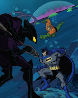 Batman: The Brave and The Bold - Batman & Aquaman vs. Black Manta