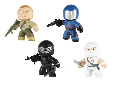 G.I. Joe Mighty Muggs Wave 1 - Duke, Cobra Commander, Snake Eyes & Storm Shadow