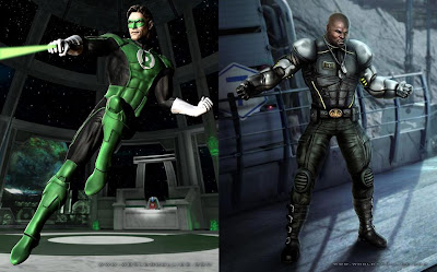 Mortal Kombat vs. DC Universe - Green Lantern and Jax