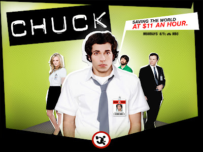 Chuck on NBC Mondays at 8/7c