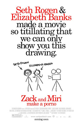 Zack and Miri Make a Porno American Theatrical One Sheet Movie Poster