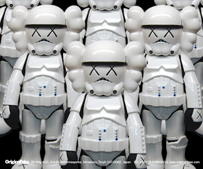 Kaws x Star Wars Storm Trooper Vinyl Figure