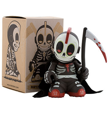 Kidrobot 15 - Kidreaper Vinyl Figure and Box by Andrew Bell