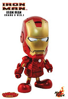 Iron Man Mark 3 Cosbaby Vinyl Figure by Hot Toys