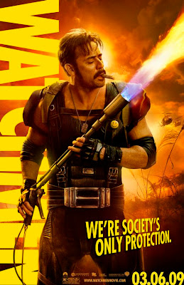 Watchmen Character Movie Posters - Jeffrey Dean Morgan as The Comedian