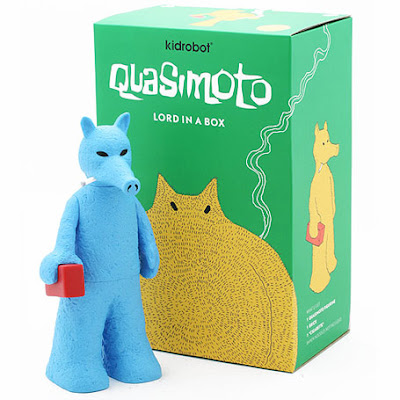 Kidrobot x Stones Throw Blue Quasimoto Vinyl Figure