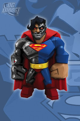 DC Direct - Cyborg Superman Uni-Formz Vinyl Action Figure