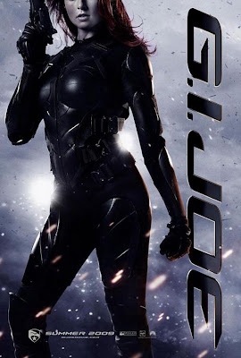 G.I. Joe: Rise of Cobra Character Movie Posters Set 2 - Rachel Nichols as Scarlett