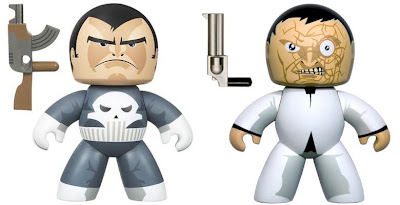 Toys R Us Exclusive Marvel Legends Mighty Muggs - the Punisher and Jigsaw Mighty Muggs
