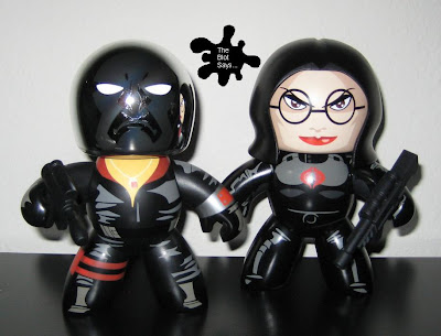 G.I. Joe Mighty Muggs Wave 2 - Destro and The Baroness Mighty Muggs
