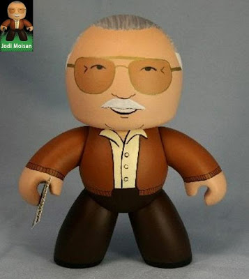 Custom Stan Lee Mighty Mugg by Jodi Moisan