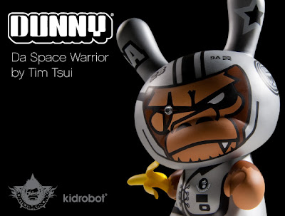Kidrobot - Da Space Warrior 8 Inch Dunny by Tim Tsui