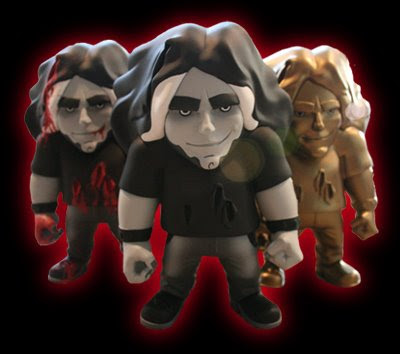 Kill Audio Vinyl Figures Claudio Sanchez - Bloody, Black and White & Gold Editions