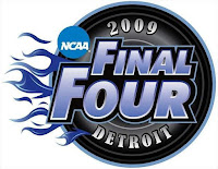 The 2009 Final Four in Detroit, MI logo