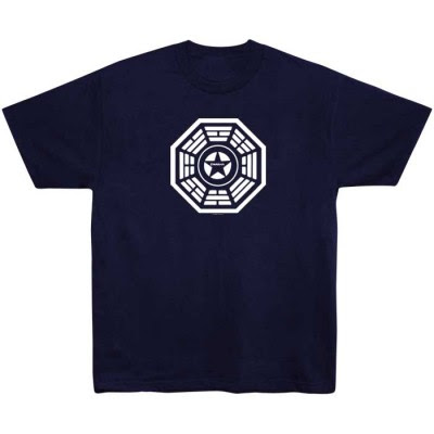 Lost - Dharma Initiative Security Logo T-Shirt
