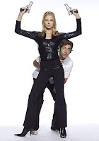 Chuck - Yvonne Strahovski as Sarah Walker and Zachary Levi as Chuck Bartowski