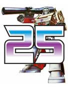 The 25th Anniversary of Transformers - Classic Megatron Badge