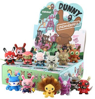 Kidrobot - Dunny Endangered! 3 Inch Series and Case Box Artwork by Jeremyville